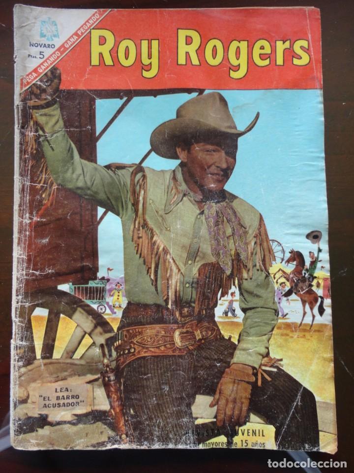ROY ROGERS - Nº-172 (Tebeos y Comics - Novaro - Roy Roger)