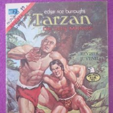 Tebeos: TEBEO TARZAN DE LOS MONOS SERIE AGUILA NOVARO LOS HOMBRES DE FUEGO 1975 Nº 461. Lote 199447856