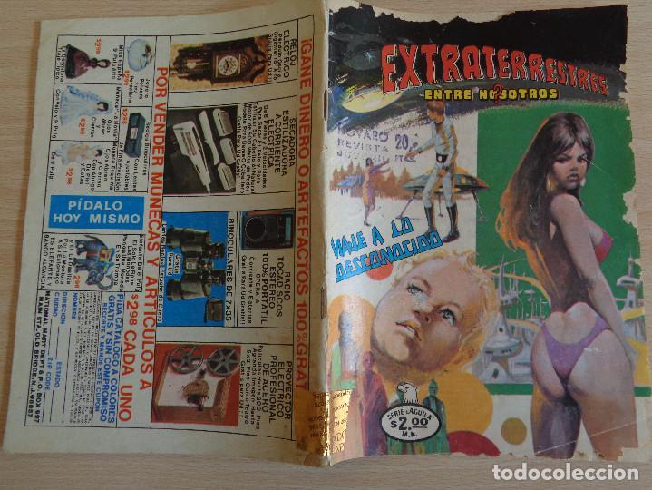 Tebeos: Extraterrestres entre nosotros Nº 2-2. Serie Aguila. Novaro 1979 - Foto 2 - 199666512