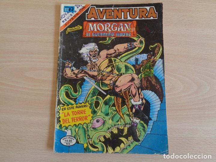 MORGAN EL GUERREO AUDAZ Nº 2-922. SERIE AGUILA. NOVARO 1978 (Tebeos y Comics - Novaro - Otros)