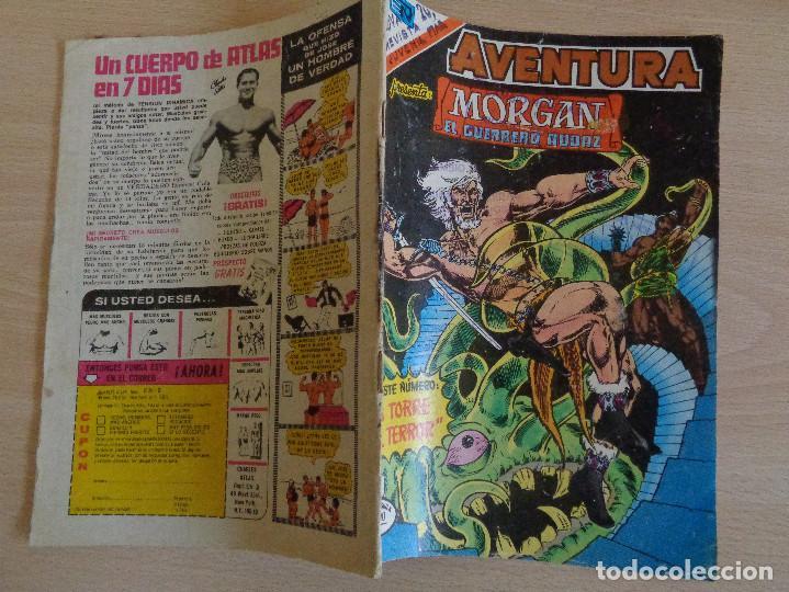 Tebeos: Morgan el Guerreo Audaz Nº 2-922. Serie Aguila. Novaro 1978 - Foto 2 - 199666706