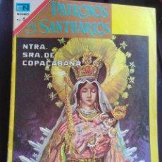 Tebeos: PATRONOS Y SANTUARIOS - NTRA. SRA. DE COPACABANA - NOVARO - 1967 . Lote 199704106