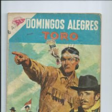 Giornalini: DOMINGOS ALEGRES Nº 246 : TORO. EDITORIAL NOVARO (DIC 1958). ROTURA EN PORTADA. Lote 199715991
