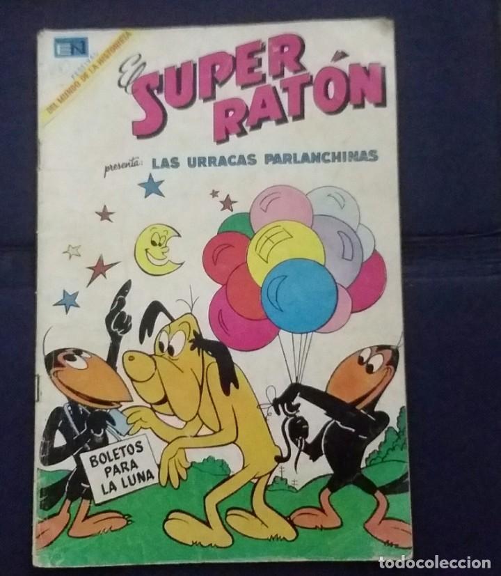 CÓMIC 1969 EL SUPER RATÓN Y LAS URRACAS PARLANCHINAS. FESTIVAL D MUNDO D LA HISTORIETA. TEBEO NOVARO (Tebeos y Comics - Novaro - Otros)