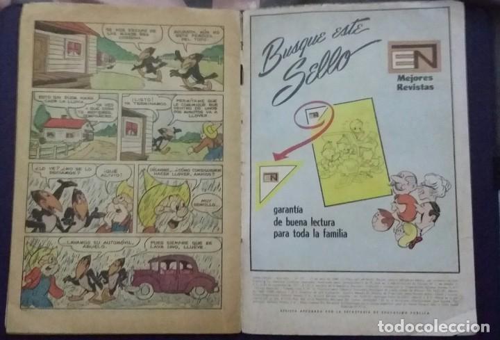 Tebeos: CÓMIC 1969 EL SUPER RATÓN Y LAS URRACAS PARLANCHINAS. FESTIVAL D MUNDO D LA HISTORIETA. TEBEO NOVARO - Foto 4 - 199728671
