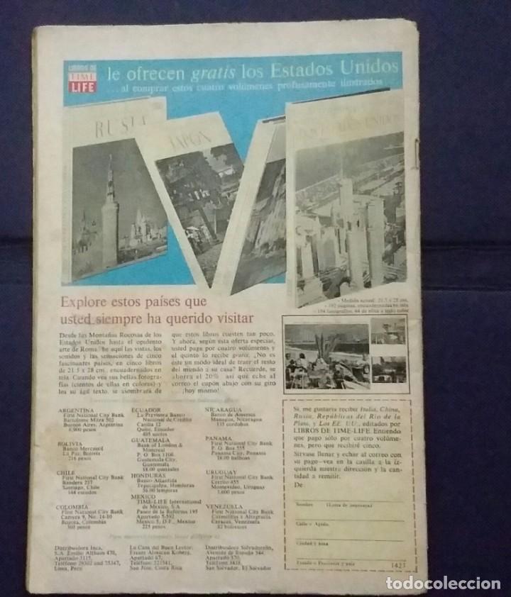 Tebeos: CÓMIC 1968 EL SUPER RATÓN. FUTBOL. DESFILE DE EQUIPOS. TEBEO No. 196. EDITORIAL NOVARO - Foto 2 - 199729902