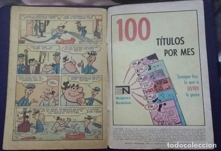 Tebeos: CÓMIC 1968 EL SUPER RATÓN. FUTBOL. DESFILE DE EQUIPOS. TEBEO No. 196. EDITORIAL NOVARO - Foto 6 - 199729902