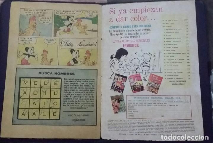 Tebeos: CÓMIC 1968 EL PÁJARO LOCO. FUTBOL. DESFILE DE EQUIPOS. TEBEO No. 301. EDITORIAL NOVARO. - Foto 5 - 199730983