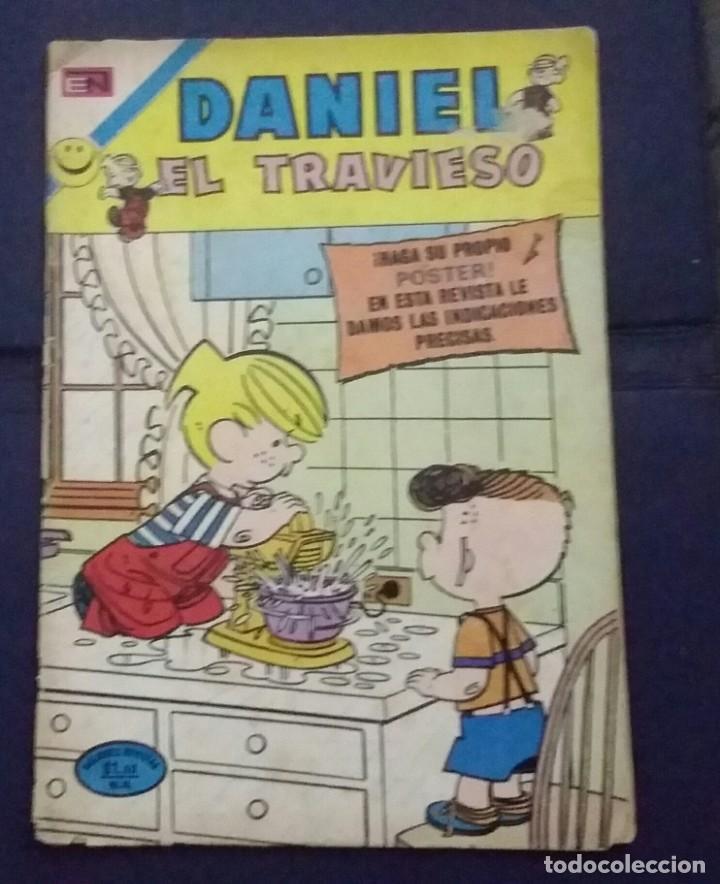 CÓMIC 1972 DANIEL EL TRAVIESO. TEBEO NO. 110 EDITORIAL NOVARO. (Tebeos y Comics - Novaro - Otros)
