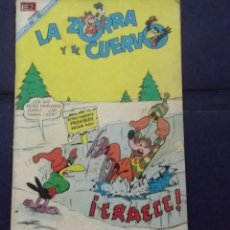 Tebeos: CÓMIC 1968 LA ZORRA Y EL CUERVO . FUTBOL. DESFILE DE EQUIPOS. TEBEO NO. 216. EDITORIAL NOVARO.. Lote 199740296
