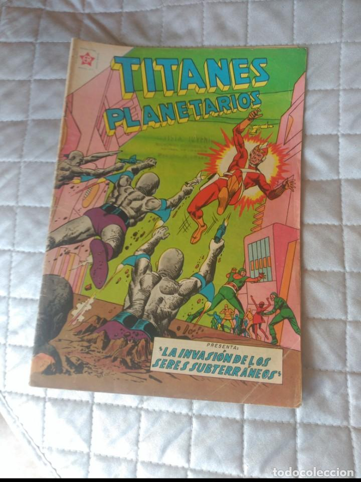 TITANES PLANETARIOS Nº 92 (Tebeos y Comics - Novaro - Sci-Fi)
