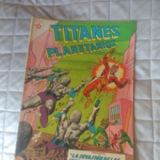 Tebeos: TITANES PLANETARIOS Nº 92. Lote 199839271