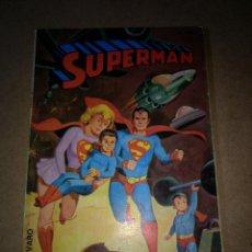 Tebeos: NOVARO LIBRO COMIC SUPERMAN NUMERO LII ULTIMO COLECION AÑOS 70. Lote 199929220