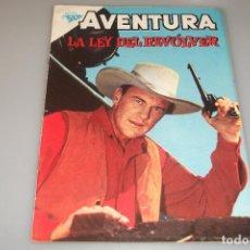 Tebeos: AVENTURA # 225 LA LEY DEL REVÓLVER S E A NOVARO MAYO 1962 MUY BUEN ESTADO. Lote 200284951