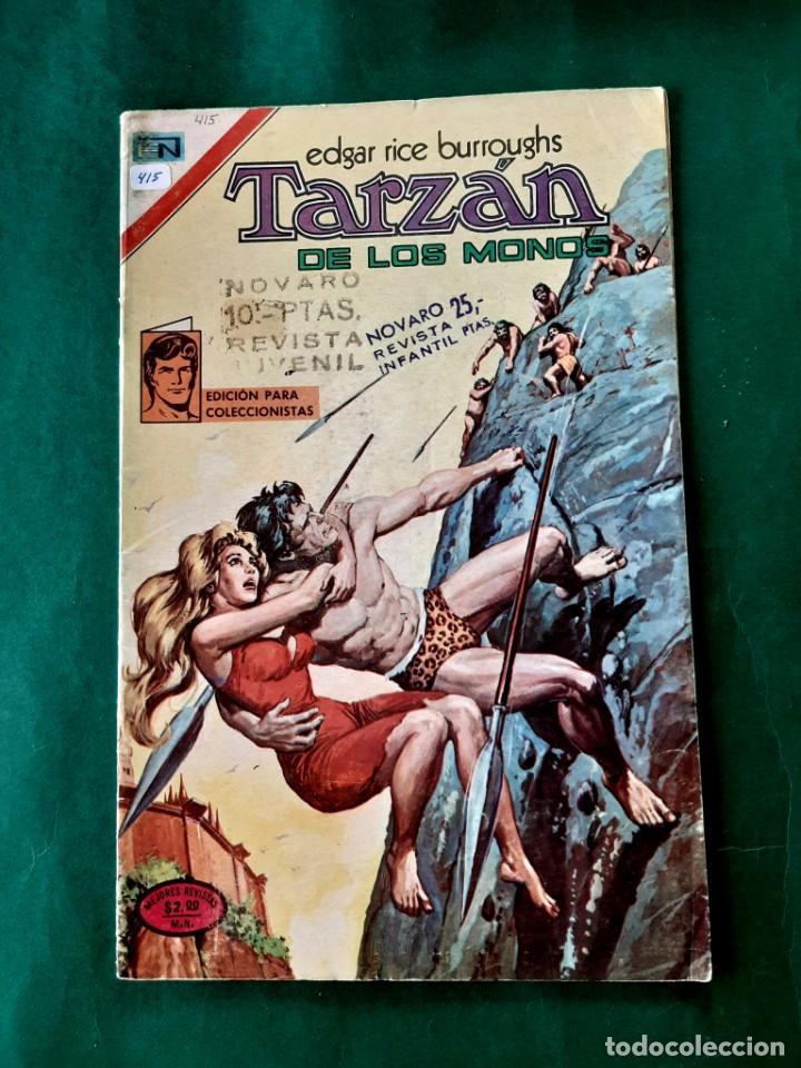 TARZAN Nº 415 EXCELENTE ESTADO (Tebeos y Comics - Novaro - Tarzán)