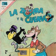 Tebeos: LA ZORRA Y EL CUERVO - AÑO XVII - Nº 197- 1 DE MAYO DE 1967 - EDITORIAL NOVARO, S.A.. Lote 200638316