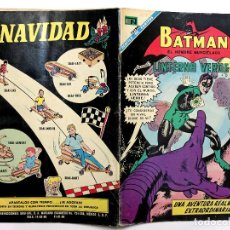 Tebeos: BATMAN #457 - NOVARO 1968 - MUY BUEN ESTADO - LINTERNA VERDE - GREEN LANTERN - SPANISH MEXICAN COMIC. Lote 200648887