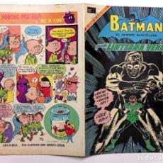 Tebeos: BATMAN #469 - NOVARO 1969 - MUY BUEN ESTADO - LINTERNA VERDE - GREEN LANTERN - SPANISH MEXICAN COMIC. Lote 200649095