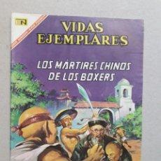 Tebeos: VIDAS EJEMPLARES N° 243 - LOS MÁRTIRES CHINOS DE LOS BOXERS - ORIGINAL EDITORIAL NOVARO. Lote 201097883