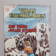 Tebeos: VIDAS EJEMPLARES N° 162 - SAN PEDRO JULIÁN EYMARD - ORIGINAL EDITORIAL NOVARO. Lote 201098167