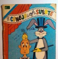 Tebeos: EL CONEJO DE LA SUERTE - Nº 2-496 - 1976 - NOVARO SERIE AGUILA . Lote 201112165
