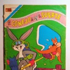 Tebeos: EL CONEJO DE LA SUERTE - Nº 2-528 - 1978 - NOVARO SERIE AGUILA . Lote 201112277
