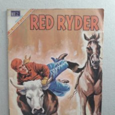 Tebeos: RED RYDER N° 196 - ORIGINAL EDITORIAL NOVARO. Lote 201479813
