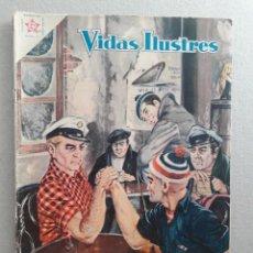 Tebeos: VIDAS ILUSTRES N° 56 - JACK LONDON - ORIGINAL EDITORIAL NOVARO. Lote 201518647
