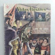 Tebeos: VIDAS ILUSTRES N° 36 - LOPE DE VEGA (EL MONSTRUO DE LA NATURALEZA) - ORIGINAL EDITORIAL NOVARO. Lote 201519111