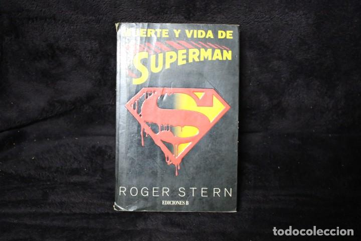 LA MUERTE DE SUPERMAN NOVELA (Tebeos y Comics - Novaro - Superman)