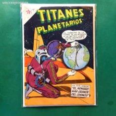 Tebeos: TITANES PLANETARIOS Nº 75 EXCELENTE ESTADO. Lote 201664326
