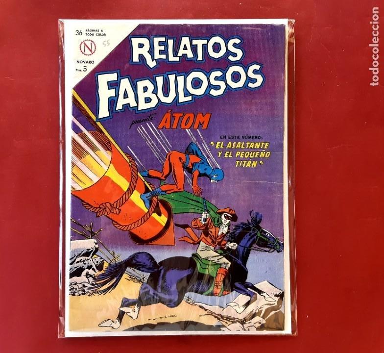 RELATOS FABULOSOS Nº 55 IMPECABLE ESTADO VER FOTOS (Tebeos y Comics - Novaro - Sci-Fi)