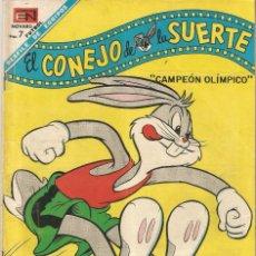 Tebeos: BUGS EL CONEJO DE LA SUERTE Nº 288 ED NOVARO AÑO 1968 FOTOS FUTBOL MEMORIA DEPORTIVA. Lote 201999105