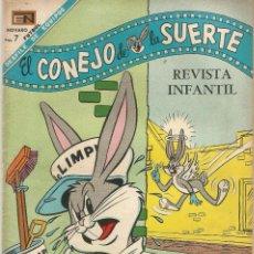 Tebeos: BUGS EL CONEJO DE LA SUERTE Nº 284 ED NOVARO AÑO 1968 FOTOS FUTBOL MEMORIA DEPORTIVA. Lote 202001237