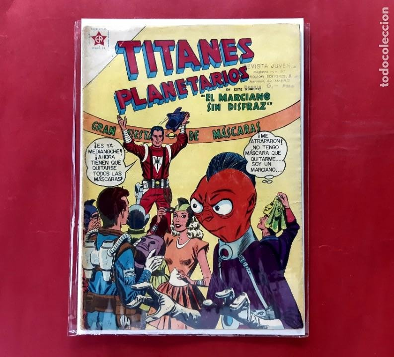 TITANES PLANETARIOS Nº 56 EXCELENTE ESTADO (Tebeos y Comics - Novaro - Sci-Fi)
