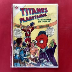 Tebeos: TITANES PLANETARIOS Nº 56 EXCELENTE ESTADO. Lote 202007358