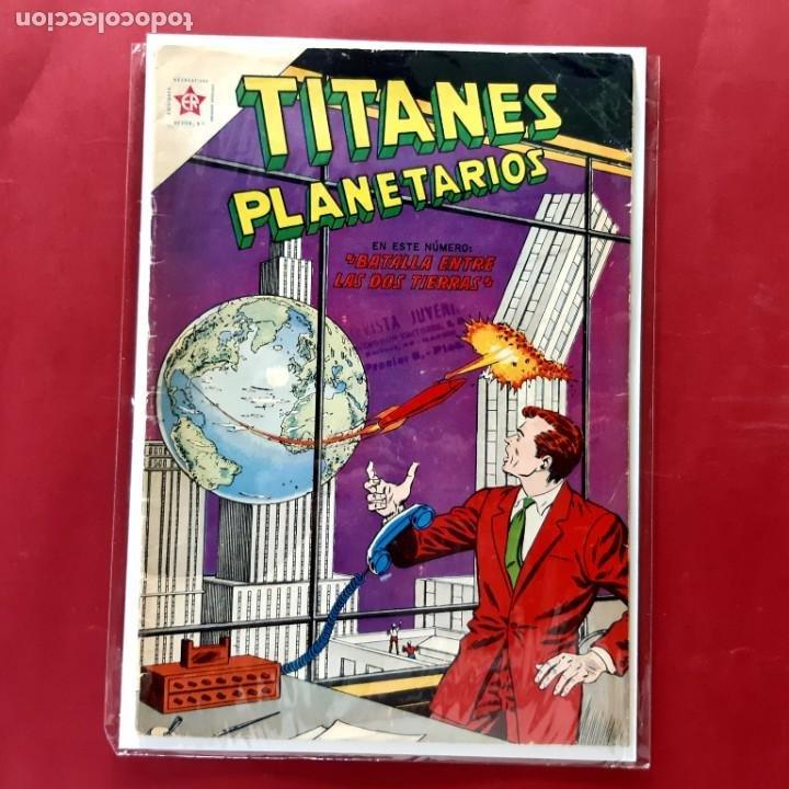 TITANES PLANETARIOS Nº 153 EXCELENTE ESTADO (Tebeos y Comics - Novaro - Sci-Fi)