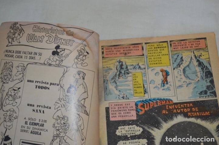 Tebeos: Serie AGUILA / NOVARO - Años 70 / 2 Ejemplares de SUPERMAN - ¡Mira fotos y detalles! - Foto 2 - 202698905