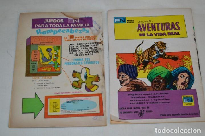 Tebeos: Serie AGUILA / NOVARO - Años 70 / 2 Ejemplares de SUPERMAN - ¡Mira fotos y detalles! - Foto 3 - 202698905