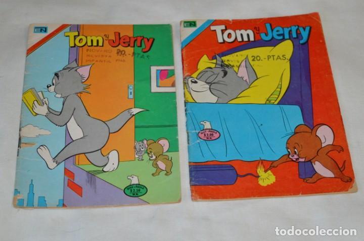 SERIE AGUILA / NOVARO - AÑOS 70 / 2 EJEMPLARES DE TOM Y JERRY - ¡MIRA FOTOS Y DETALLES! (Tebeos y Comics - Novaro - Tom y Jerry)
