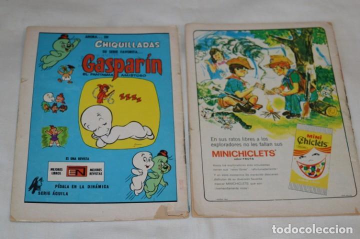 Tebeos: Serie AGUILA / NOVARO - Años 70 / 2 Ejemplares de TOM y JERRY - ¡Mira fotos y detalles! - Foto 2 - 202699982