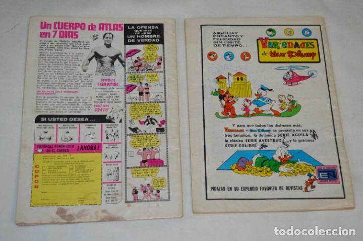 Tebeos: Serie AGUILA / NOVARO - Años 70 / 2 Ejemplares de TARZAN - ¡Mira fotos y detalles! - Foto 2 - 202701660