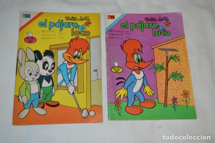 Tebeos: Serie AGUILA / NOVARO - Años 70 / 4 Ejemplares EL PÁJARO LOCO - ¡Mira fotos y detalles! - Foto 2 - 202705280