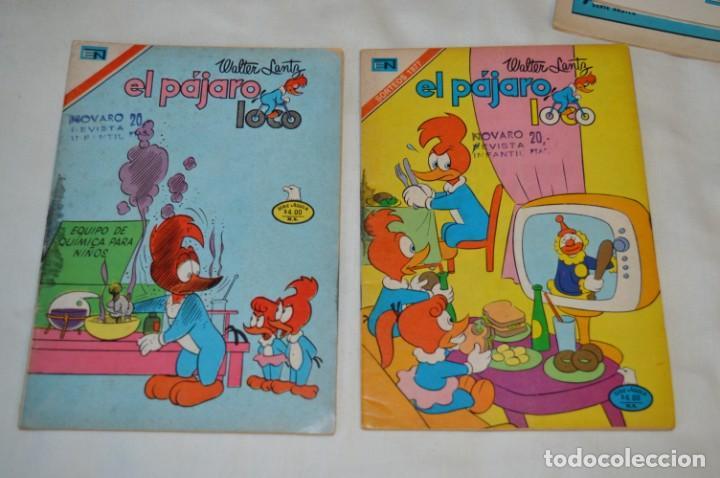 Tebeos: Serie AGUILA / NOVARO - Años 70 / 4 Ejemplares EL PÁJARO LOCO - ¡Mira fotos y detalles! - Foto 4 - 202705280