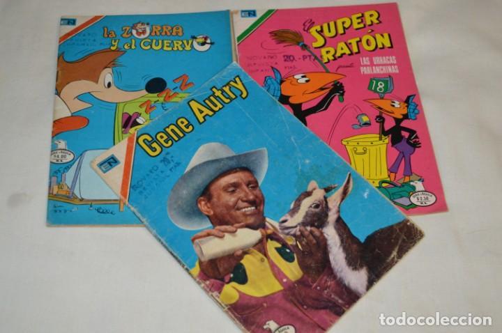 SERIE AGUILA / NOVARO - AÑOS 70 / 3 EJEMPLARES DIFERENTES COLECCIONES - ¡MIRA FOTOS Y DETALLES! (Tebeos y Comics - Novaro - Otros)