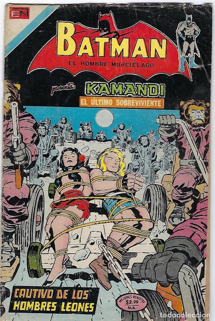 BATMAN - EL HOMBRE MURCIÉLAGO, AÑO XXII, Nº 736, JULIO 26 DE 1974 ***EDITORIAL NOVARO*** (Tebeos y Comics - Novaro - Batman)