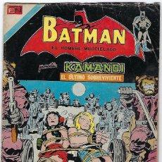 Tebeos: BATMAN - EL HOMBRE MURCIÉLAGO, AÑO XXII, Nº 736, JULIO 26 DE 1974 ***EDITORIAL NOVARO***. Lote 202983610