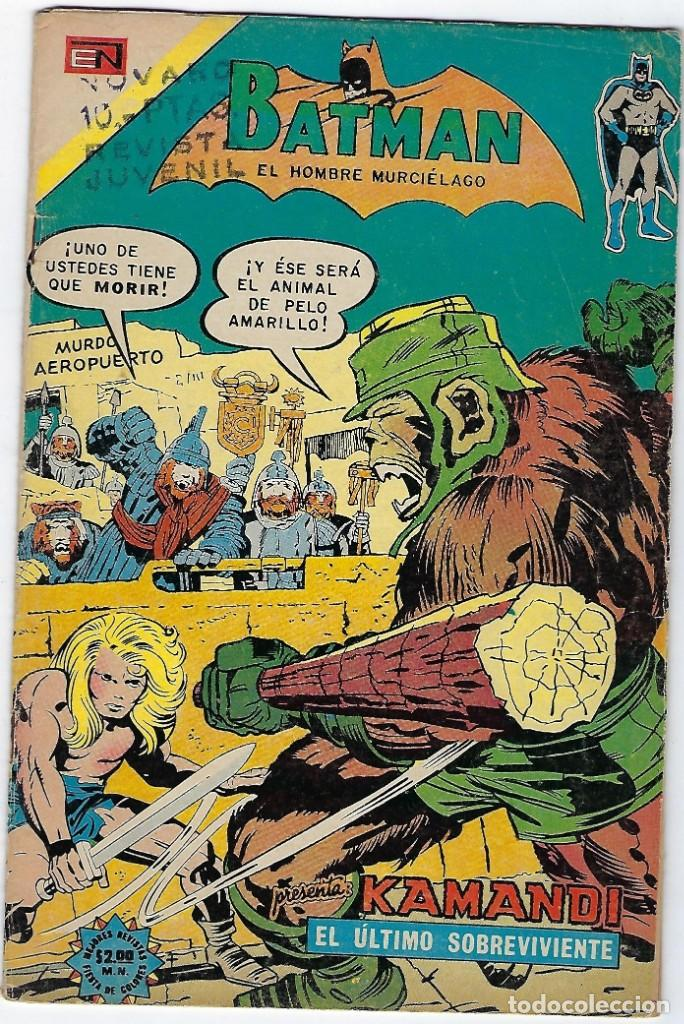 BATMAN - EL HOMBRE MURCIÉLAGO, AÑO XXII, Nº 728, ABRIL 4 DE 1974 ***EDITORIAL NOVARO*** (Tebeos y Comics - Novaro - Batman)