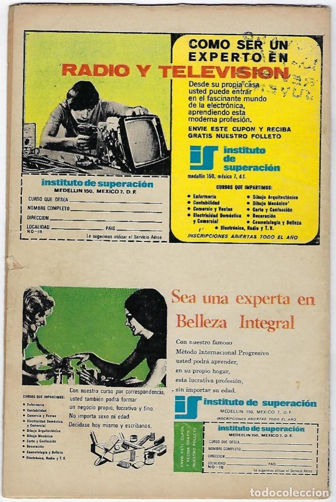 Tebeos: BATMAN - EL HOMBRE MURCIÉLAGO, AÑO XXII, Nº 728, ABRIL 4 DE 1974 ***EDITORIAL NOVARO*** - Foto 2 - 202983880