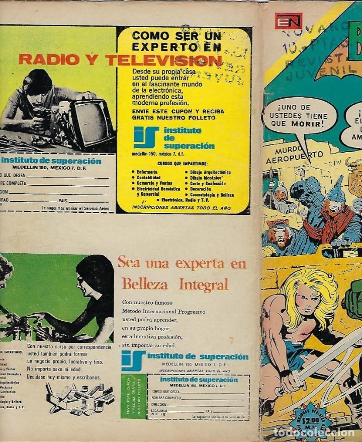 Tebeos: BATMAN - EL HOMBRE MURCIÉLAGO, AÑO XXII, Nº 728, ABRIL 4 DE 1974 ***EDITORIAL NOVARO*** - Foto 3 - 202983880